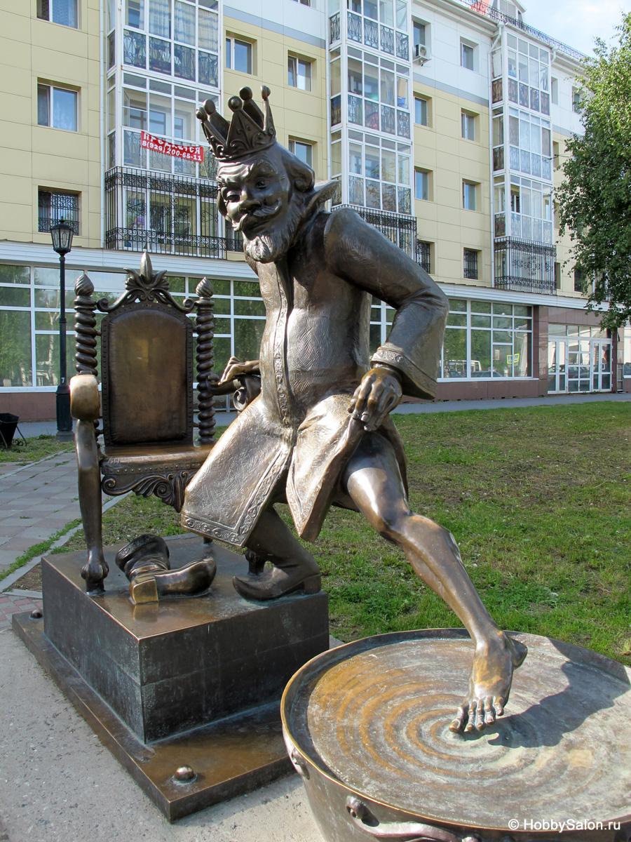 Скульптура Царя из «Конька-Горбунка»