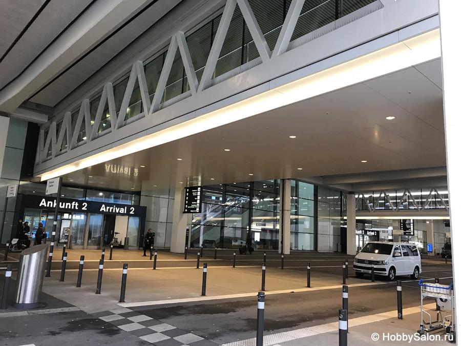 Из аэропорта Цюриха в центр города фото